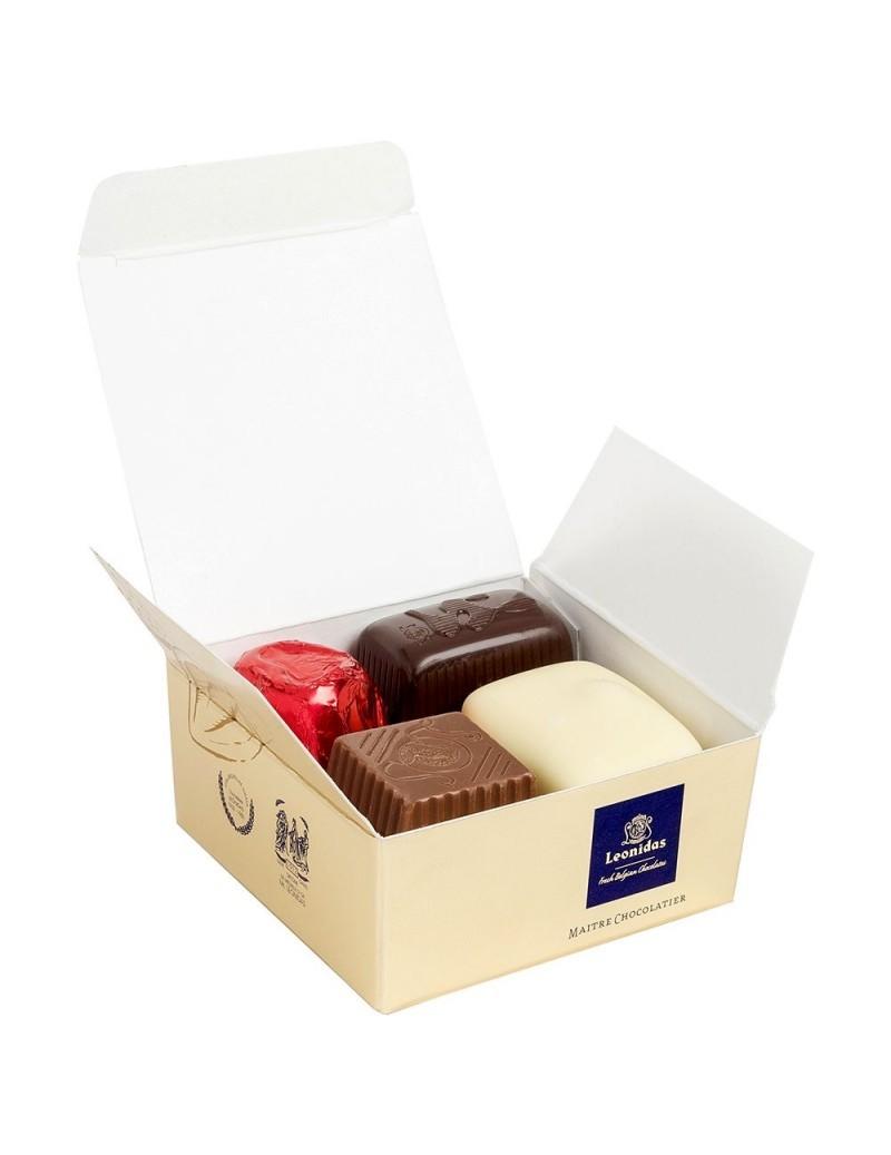 Mini-ballotin 4 chocolats